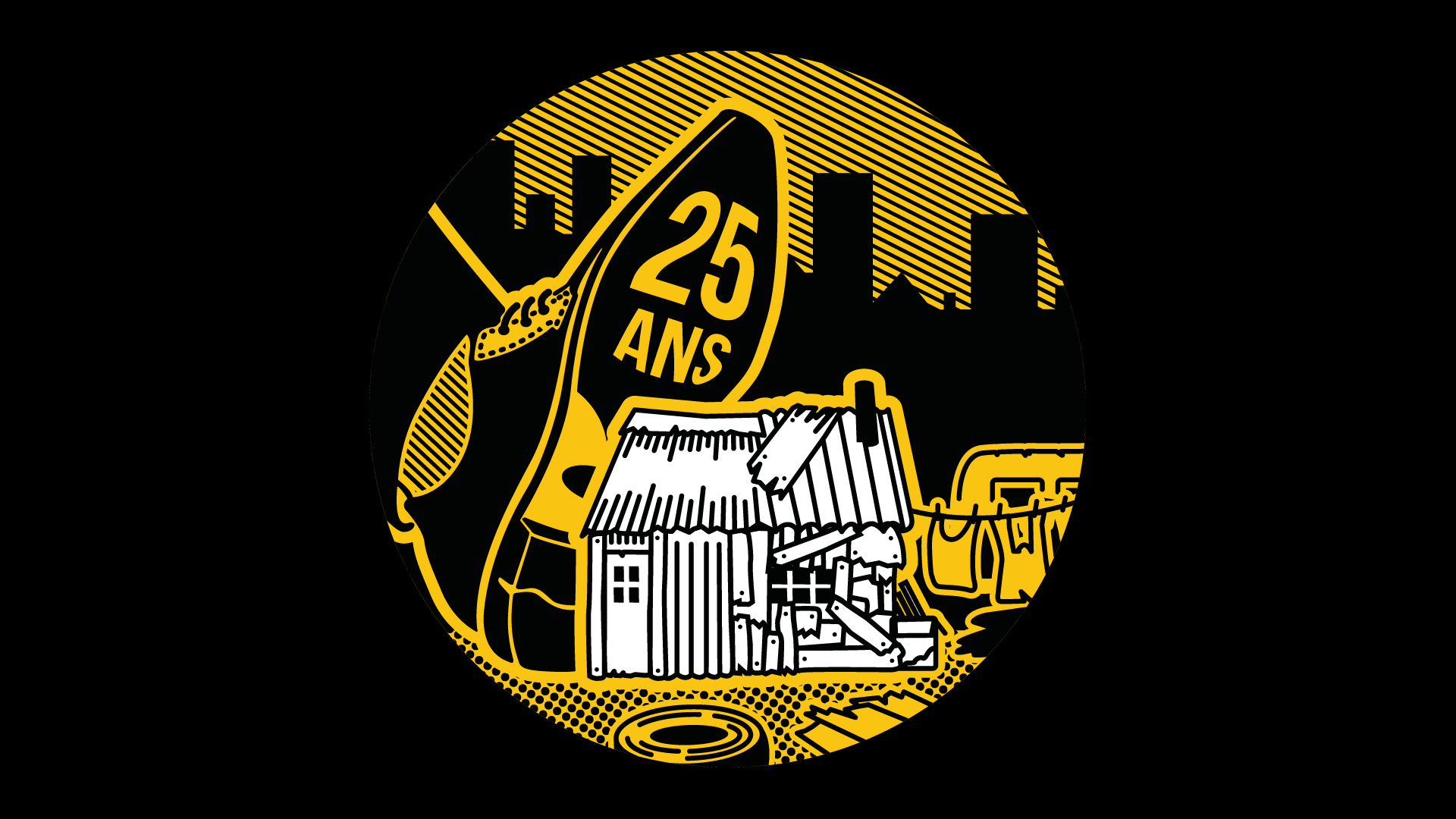 #25ANSBidonvilles